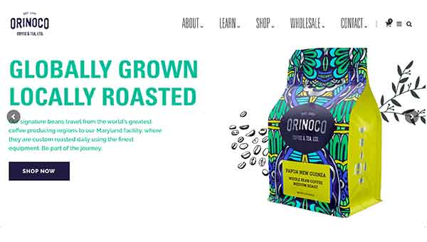 private label coffee roasters - orinoco