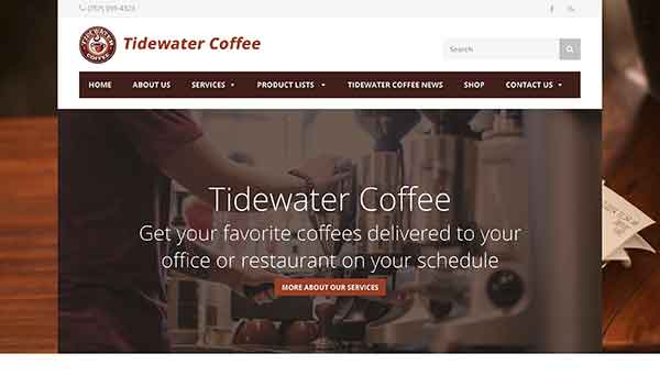 tidewater coffee roasters