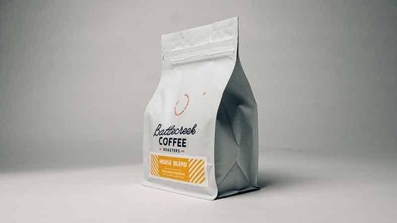 coffee bean bag designer - coffee bag design