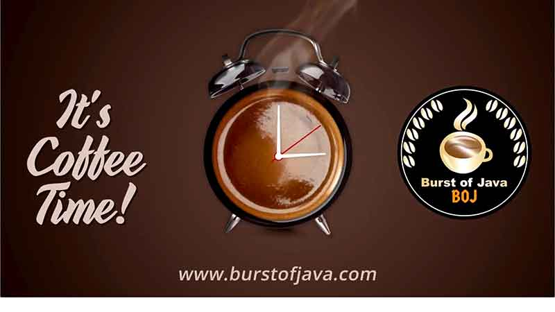burst of java home page