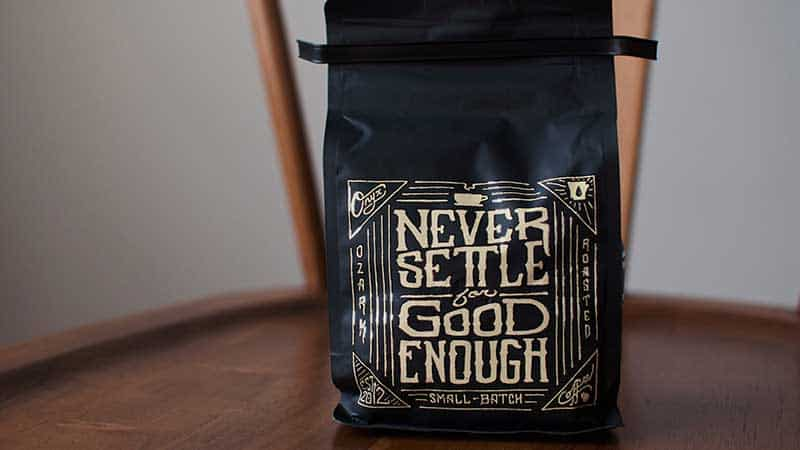 coffee company bag